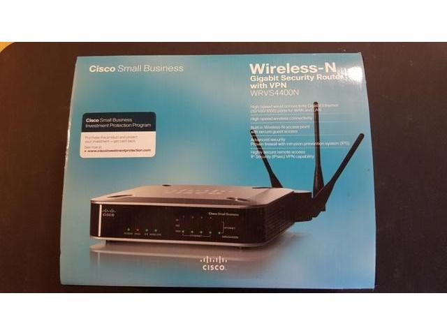 Cisco wireless router wrvs4400n Manual